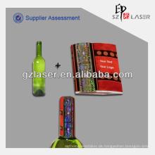 PVC-Schrumpffolie, PVC-Schrumpfhülsen, Kappen-Dichtung Etikett