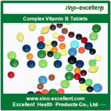 Nutritional Supplement Complex Vitamin B Tablet