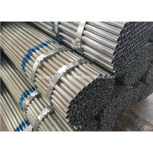 Tubo de aço galvanizado / tubo de aço galvanizado / galvanizado canalização / Zn revestido-82