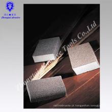 Verniz de pintura de madeira de polimento e superfícies de metal Blocos de lixamento de alta densidade, esponja abrasiva