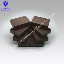 100 * 70 * 25mm P120 hoher Dichte flexibler versandender Schwammblock