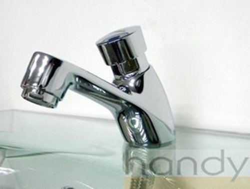 Hn 7h03 Delay Action Faucet Self Closing Basin Taps Using For Public Wash Basin