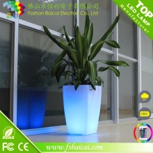 LED Flower Pots LED Light Flower Pot para Jardins Lobby