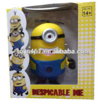 minion doll w/light music despicable me 2