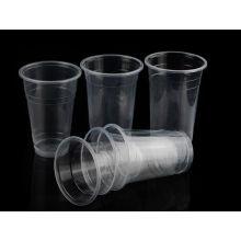 16 унций питьевой Пэт Пластиковые стаканчики с крышкой купола вывезти
