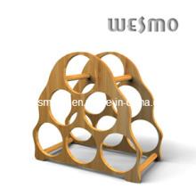 Armazenamento de vinho Dispay Bamboo Rack