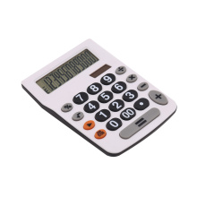 12 digit dual power office calculator with basic function