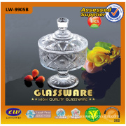 High Quatity Glass Candy Jar