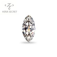 ForeverFlame  G H Marquise Cut vvs1 16ct diamond CVD CZ Moissanite huge diamond