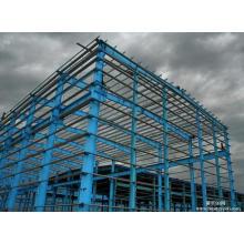 Mutiple Span High-Strength Steel Frame