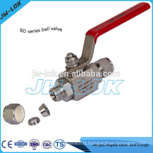 2014 hot sale ss316 tube fitting bar stock ball valve in china