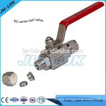 2014 venda quente ss316 tubo ajustador barra estoque válvula de esfera na China