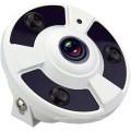 5.0MP 360 Degree Wide Angle 1.56mm Panorama Fisheye IP CCTV Cameras