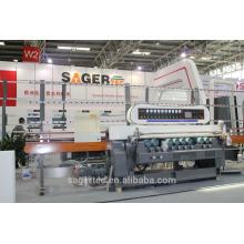 Hohe Qualität und automatische Glas Abschrägung Maschine mit 9 Motoren
