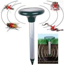 Repelente ultrasónico solar exterior para topos y roedores My-806