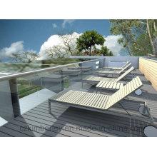 Plancher en bois massif de haute qualité WPC / Floorboard / WPC Decking Floor
