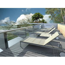 High Quality WPC Solid Decking/Plastic Flooring/WPC Decking Floor