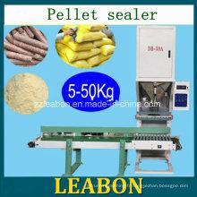 La ligne de production emploient la machine à ensacher mobile de granule sur la vente