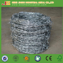 Galvanized Twisted Fence Wire, Barbed Tape, Barbed Wire Fence