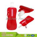 De calidad superior personalizado impreso Portable reutilizable boca de bebida de envasado plegable plástico bolsa de agua bolsa / bolsa