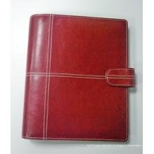 Carpeta de archivo del organizador de la moda A5, caso del cuaderno