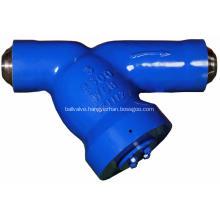 Pressure Seal Y Type Industrial Strainer
