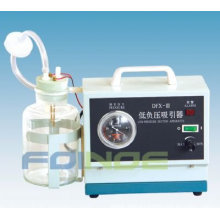 DFX-III LOW NEGATIVE PRESSURE SUCTION UNIT--CE Approval