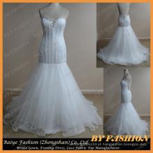 Mermaid Sexy Low Back Wedding Dress BYB-14540