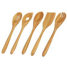 Bamboo 5 pcs of kitchen cooking tools