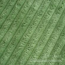 Tecido de poliuretano de veludo de poliéster 6W para decoração