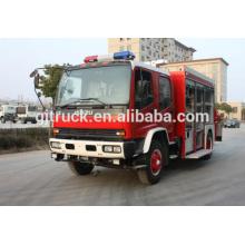 Famoso camión multifunción 4x2 contraincendios / camión de rescate con grúa