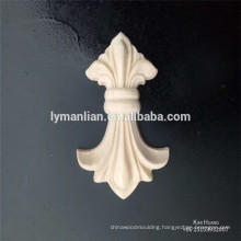small rubber wood carving decorations wooden rosettes wood appliques