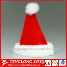 wholesale kids plush christmas hat with best price