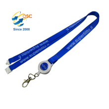 Fashion Eco Friendly Custom Printed Label Polyester Heat Transfer Neck Lanyards