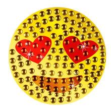 MOQ 500 Vario estilo cara cuerpo Rhinestone Crystal Sticker
