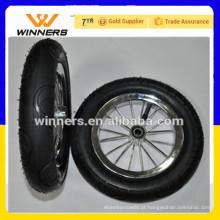 todo o tamanho pneumático roda de borracha roda de bicicleta da criança