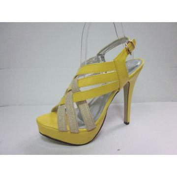 2016 New Fashion High Heel Ladies Summer Sandals (HCY03-039)
