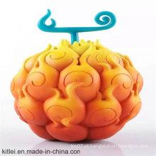 Colorido, vinil, artesanato, redondo, forma, plástico, decoração, presente