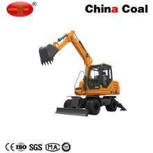 Excavadora de ruedas Jhl70 7 toneladas 2 Wd o 4WD