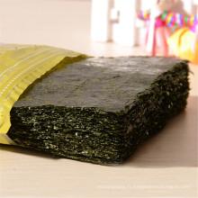 Rouleau de sushis japonais grade ABCD algues grillées nori, algues halal