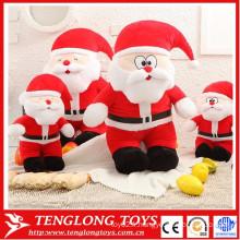 Gros lot de jouets en peluche mignon Jouets de Noël Jouets du père Noël