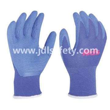 Работа перчатка красочный латексные пены покрытия (размер 5» / LR3018F)