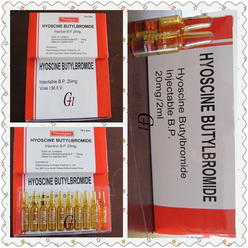 Antispasmodic Scopolamine Butylbromide Injection