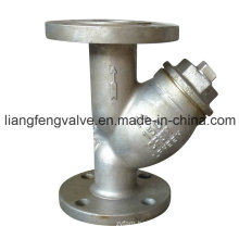 150lb Y-Strainer with Flange End Stainless Steel