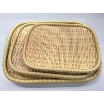Plat de style de bambou de mélamine / plat de Soba / plat de dîner (NK13713-08)