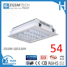 Ce Listed Waterproof 120W 110lm/W CRI70 LED Gas Station Light