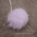 Factory wholesale customized size and color mink fur pom pom ball