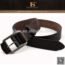 Mejor calidad genuina original cuero militar cinturón