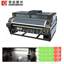 Double Head Leather Laser Cutting Machine for Shoe