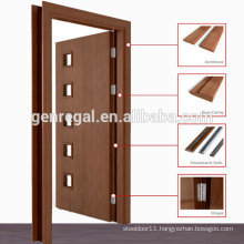 Natural Veneer Pre hung laminated wooden door